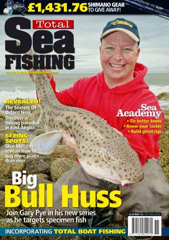 Total Sea Fishing issue November - 2012