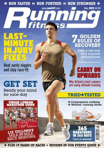 Running Fitness issue Rest To Run Faster May 2011