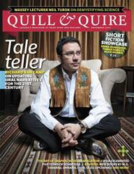 Quill & Quire issue November 2012