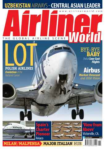 Airliner World issue November 2012
