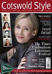 Cotswold Style issue Cotswold Style October 2012