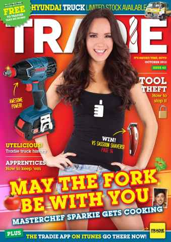 Tradie issue OCTOBER TRADIE 2012