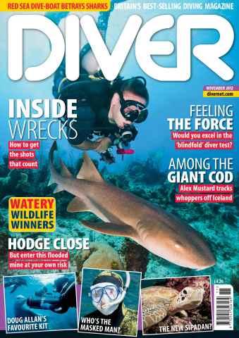 DIVER issue November 2012