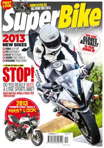 Superbike Magazine issue November 2012