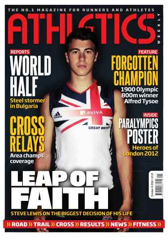 Athletics Weekly issue AW October 11 2012