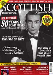 Scottish Memories issue November 2012