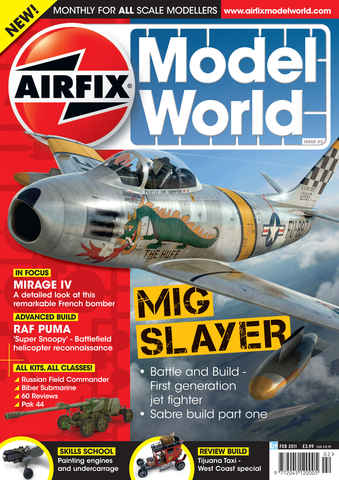 Airfix Model World issue February 2011
