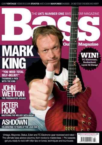Bass Guitar issue 84 November 2012