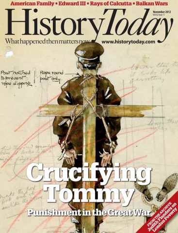 History Today issue November 2012