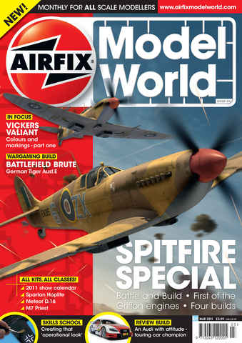 Airfix Model World issue March 2011
