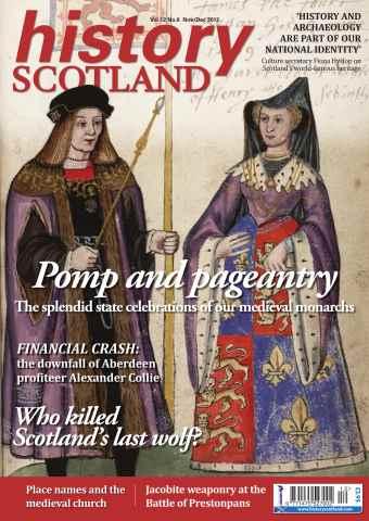 History Scotland issue Nov-Dec 2012