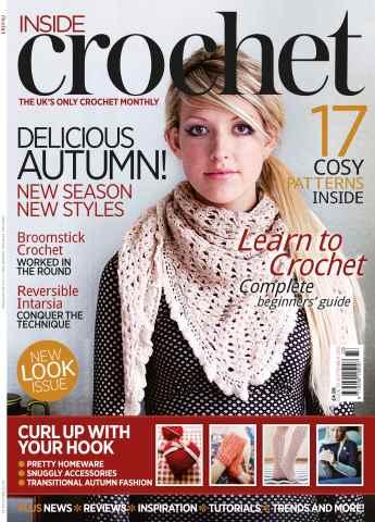 Inside Crochet issue September 2012 Issue 33