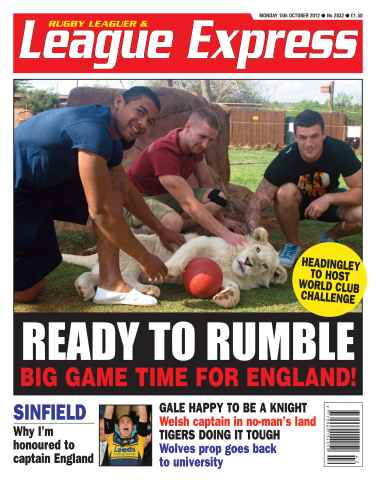 League Express issue 2832