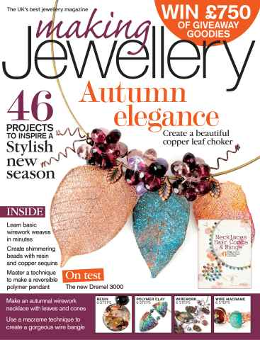 Making Jewellery issue November 2012