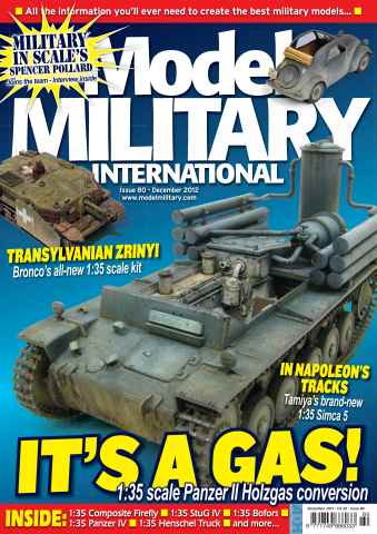 Model Military International issue 80