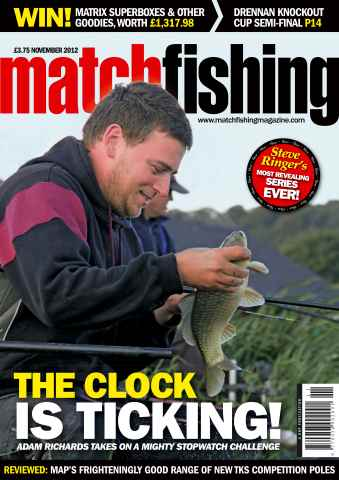 Match Fishing issue November 2012