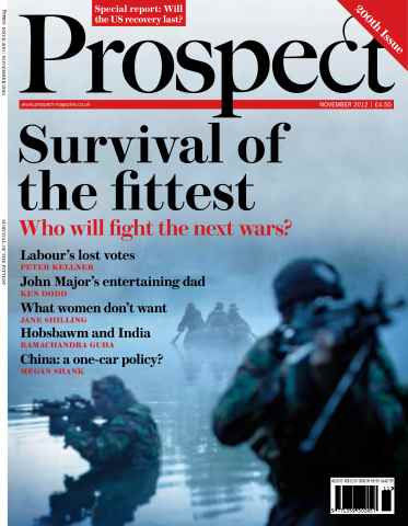 Prospect Magazine issue 200. November 2012