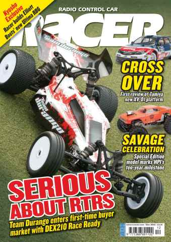 Radio Control Car Racer issue December 2012