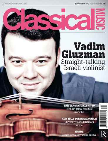 Classical Music issue Classical Music 20th October
