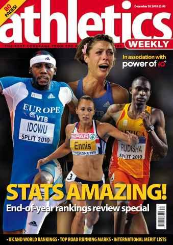 Athletics Weekly issue AW Dec 30 2010