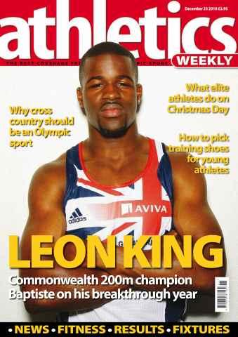 Athletics Weekly issue AW Dec 23 2010
