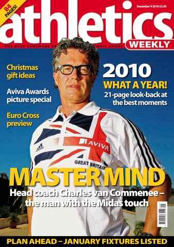 Athletics Weekly issue AW Dec 9 2010