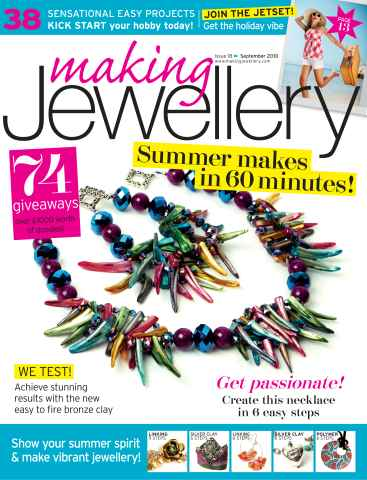 Making Jewellery issue September 2010