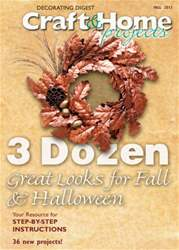 Craft & Home Projects issue Fall 2012