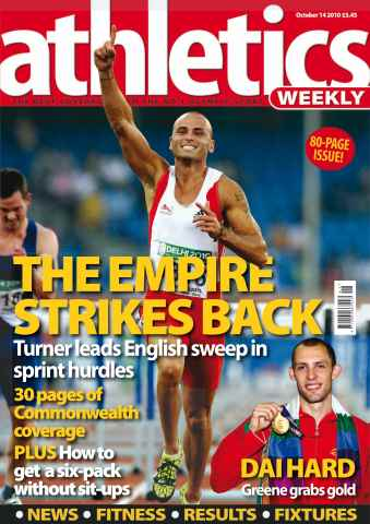 Athletics Weekly issue AW October 14 2010