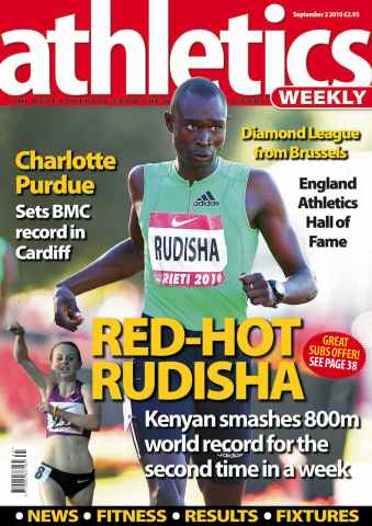 Athletics Weekly issue AW September 2 2010