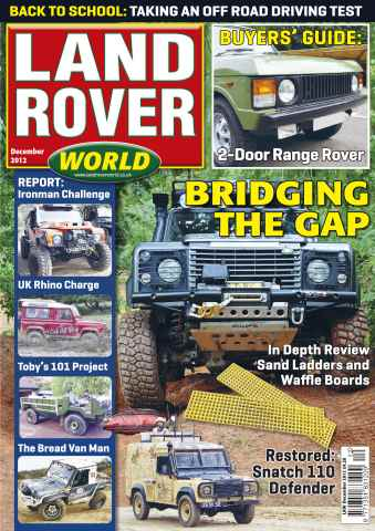 Landrover World issue Range Rover buying guide