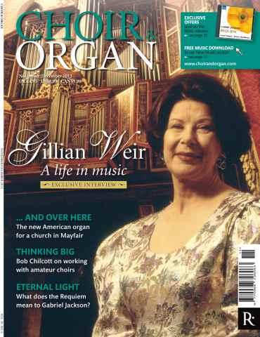 Choir & Organ issue Choir & Organ Nov - Dec 2012