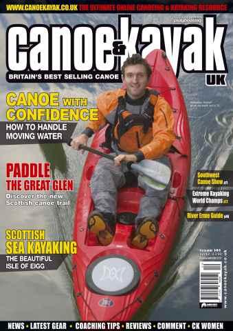 Canoe & Kayak UK issue Scottish Canoeing & Sea Kayaking
