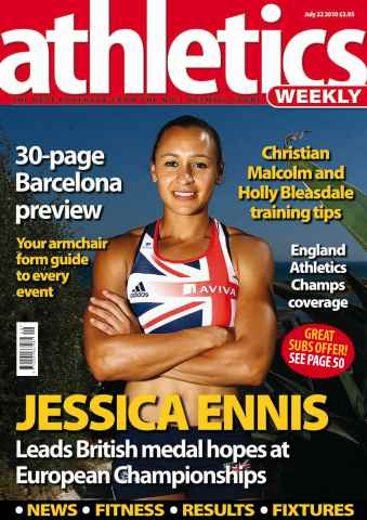 Athletics Weekly issue AW July 22 2010