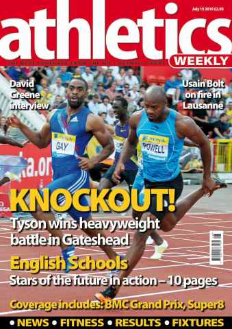 Athletics Weekly issue AW July 15 2010