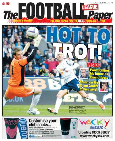 The Football League Paper issue 21st October 2012