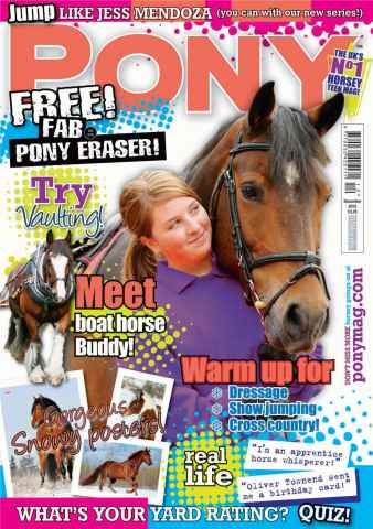 Pony Magazine issue December 2012