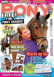 Pony Magazine issue December 2012