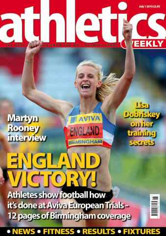 Athletics Weekly issue AW July 1 2010
