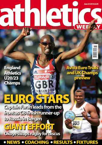 Athletics Weekly issue AW June 24 2010