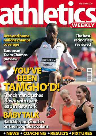 Athletics Weekly issue AW June 17 2010