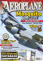 Aeroplane issue No.476 DH Mosquito Special