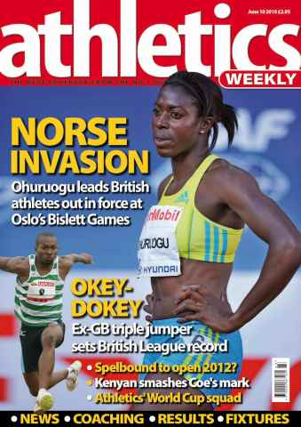 Athletics Weekly issue AW June 10 2010