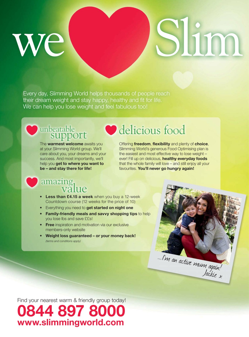 Slimming world november december 2012 Slimming world my account