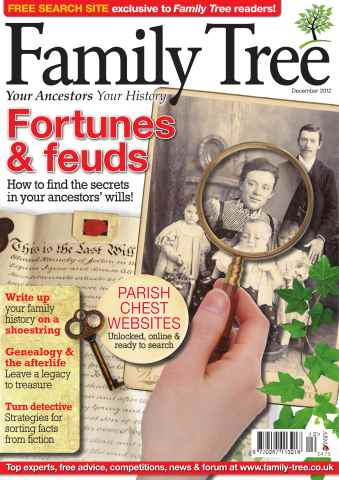 Family Tree issue Family Tree December 2012