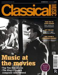 Classical Music issue 26th March 2011