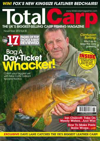 Total Carp issue November 2012