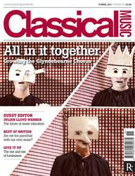 Classical Music issue 9th April 2011