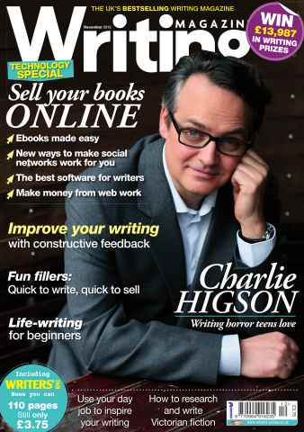 Writing Magazine issue Writing Magazine December 2012
