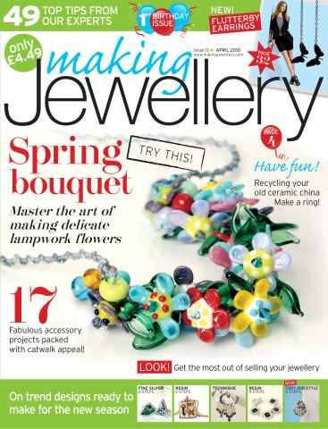 Making Jewellery issue April 2010
